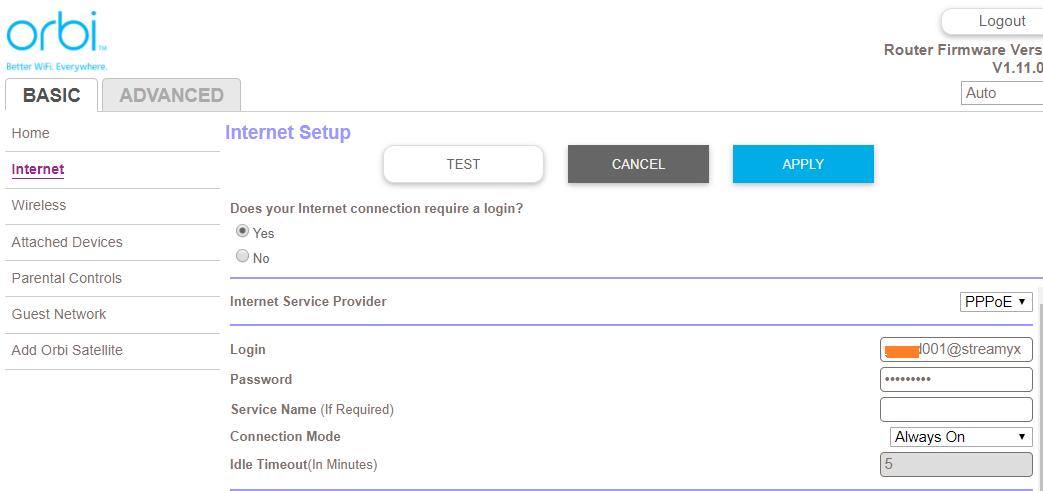 Setup · Netgear Orbi: Streamyx & UniFi Setup Guide