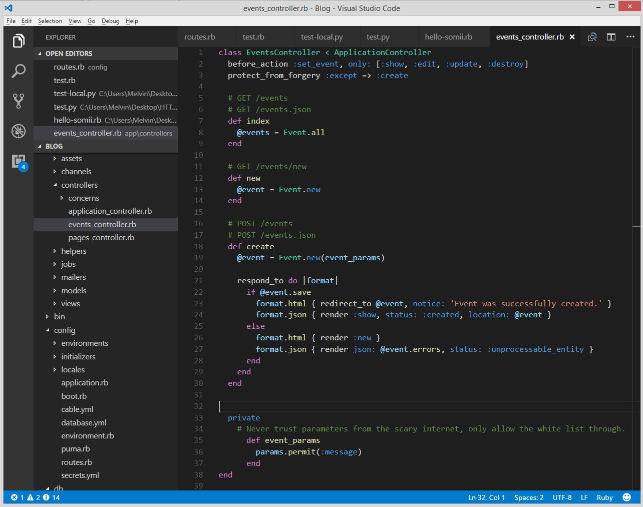 Chapter 1  RESTful JSON API · Ruby On Rails Tutorial